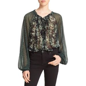 Free People | Hendrix Floral Blouse
